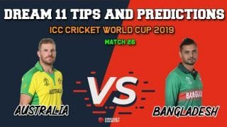 AUS vs BAN Dream11 Prediction: Best Playing XI Players to Pick for Match 26 between Australia and Bangladesh at 3 PM